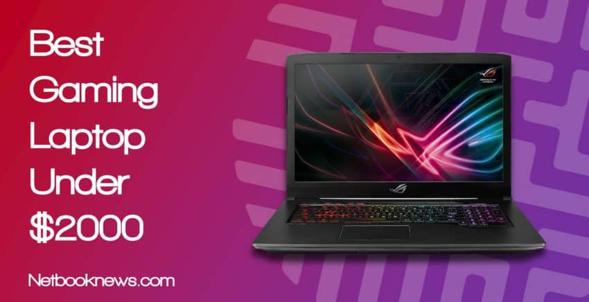 best gaming laptop under 2000