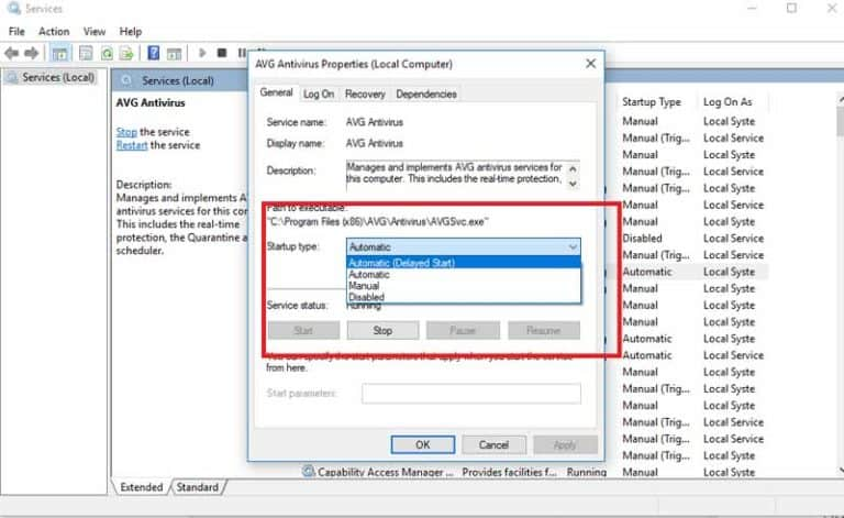 Delay Windows Services That Run At Startup