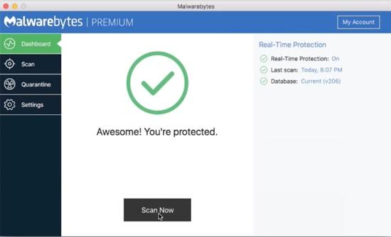 Run Regular Malware Scans on Mac