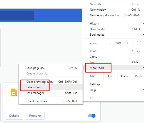 Remove Unused Extensions