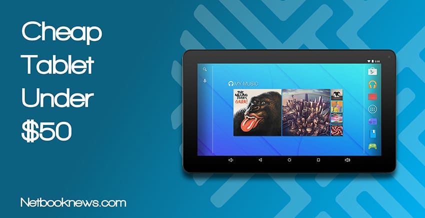 cheap tablet under 50