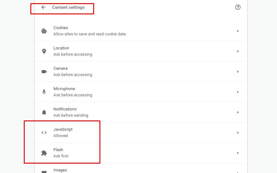 Block Flash Or Javascript114