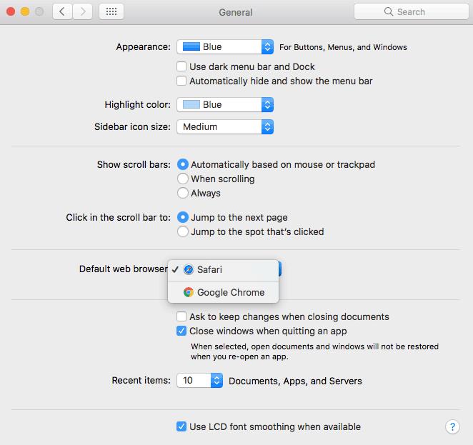 Change Your Safari Browser 147