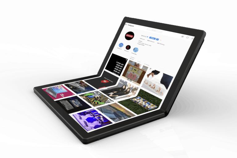 83355f1b dbf4 49ce a40e fecb869b65a1 Lenovo Worlds First Foldable PC 2 1