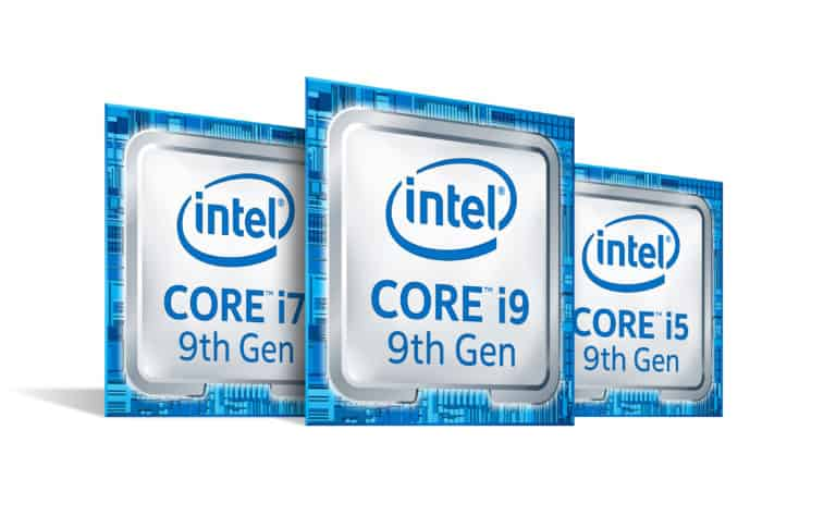 Intel 9th Gen Core 8.0