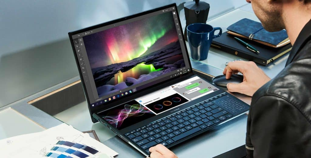 Asus unveils new dual touchscreen laptop