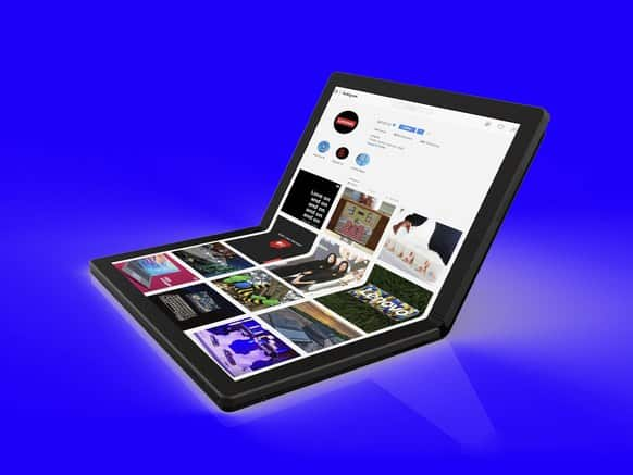 Gear TA Lenovo Worlds First Foldable PC 2