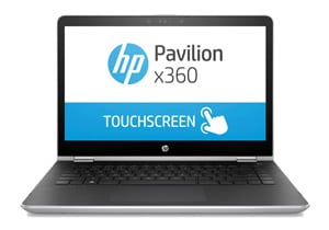 "Newest HP Pavilion x360 14"" HD WLED Touchscreen 2-in-1 Convertible Laptop, Intel Core i3-8130U up to 3.4GHz, 8GB DDR4, 128GB SSD, 802.11ac, Bluetooth, USB-C, HDMI, HP Active Stylus Pen, Windows 10"