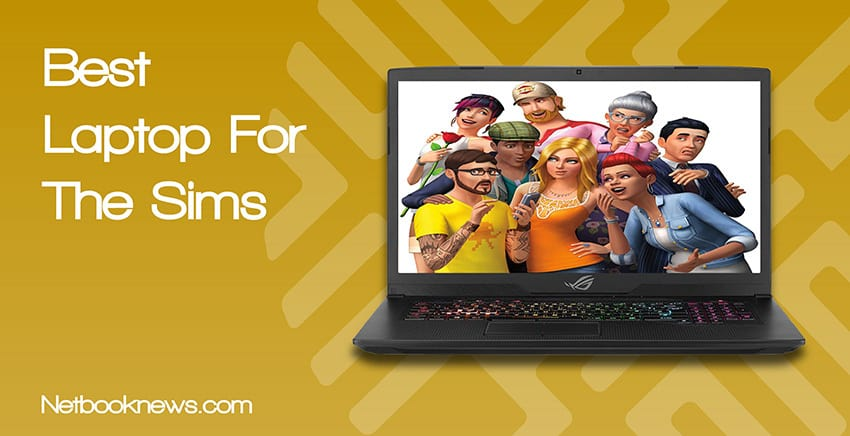 feature image best laptop for the sims
