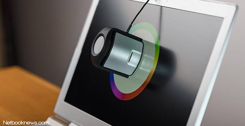 Calibrate laptop monitor